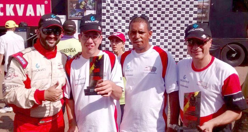 Campeões Paulista de Rally de Velocidade 2016